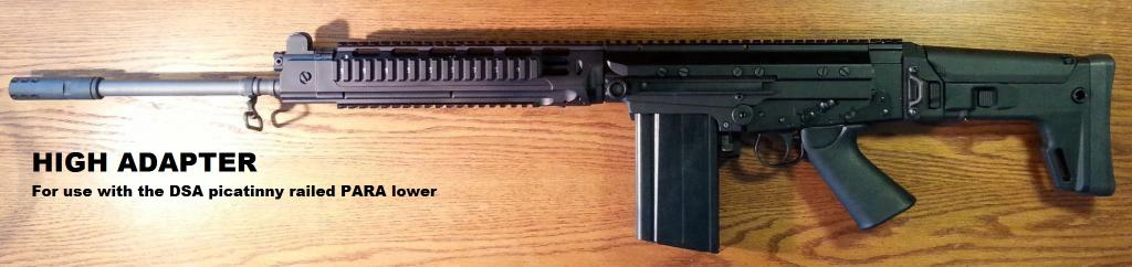 Pre-payments started for 2nd run of ACR stock adapters for FAL's