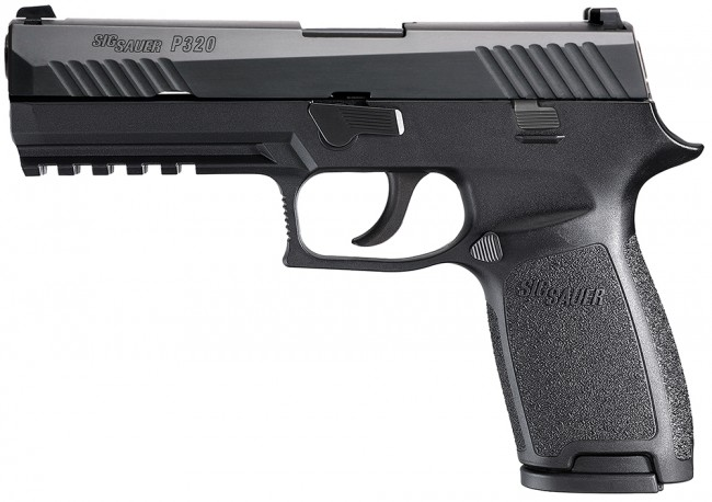 SIG-Sauer Striker-Fired P-320 Review