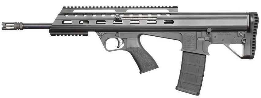 MAC with the new K&M M17-5.56, a new gen. of the Bushmaster M17S bullpup [video]
