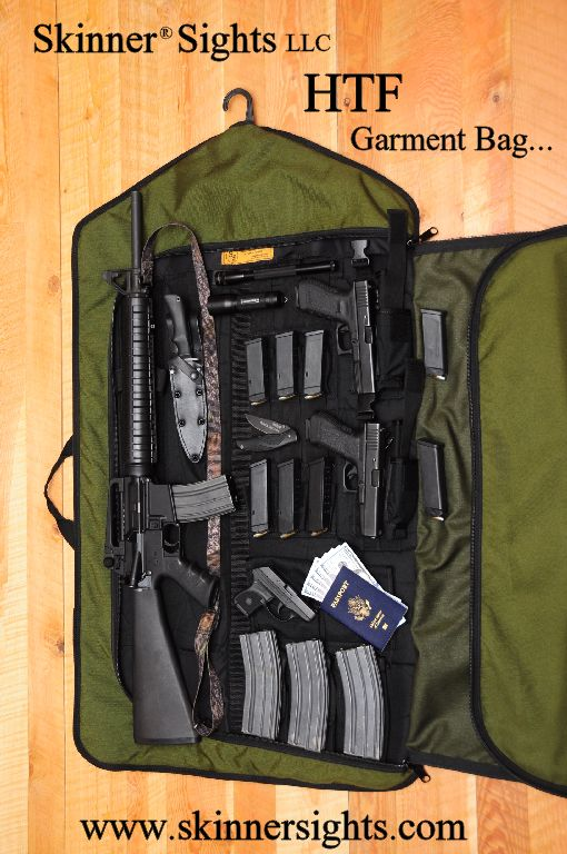 "Skinner HTF ""Tactical Garment Bag"""