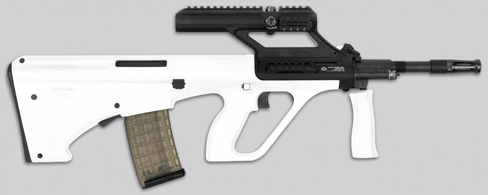 Steyr Arms Releases Another Batch of White AUG A3 M1 Rifles
