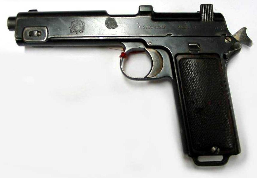 RIA: Steyr-Hahn Pistol Variations