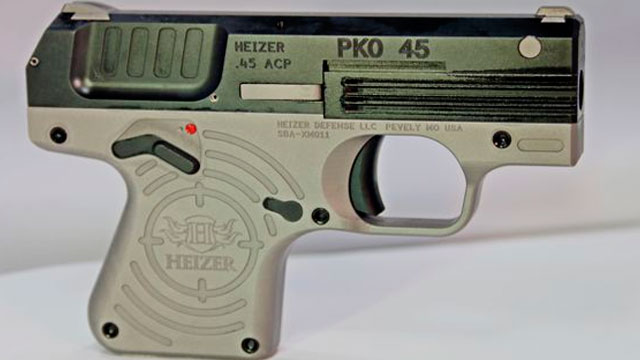 Heizer Defense to preview itty-bitty .45 at USCCA Expo