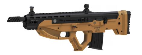 Uzkon Announces UNG-12 Semi-Auto Shotgun Bullpup